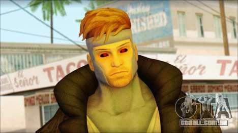 Gambit Deadpool The Game Cable para GTA San Andreas terceira tela