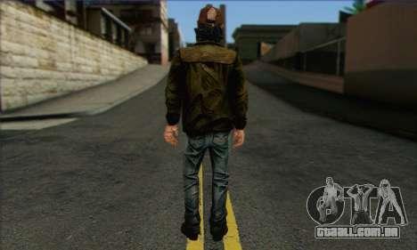 Kenny from The Walking Dead v2 para GTA San Andreas segunda tela