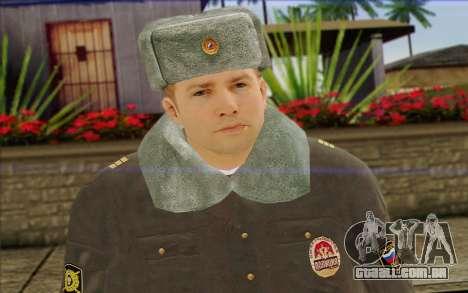 A polícia da Rússia Pele 4 para GTA San Andreas terceira tela