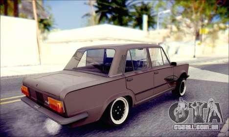 Fiat 125P Shark para GTA San Andreas esquerda vista