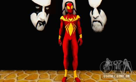 Skin The Amazing Spider Man 2 - DLC Iron Spider para GTA San Andreas segunda tela