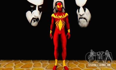 Skin The Amazing Spider Man 2 - DLC Iron Spider para GTA San Andreas segunda tela