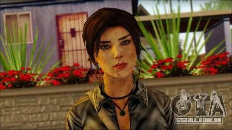 Tomb Raider Skin 3 2013 para GTA San Andreas terceira tela
