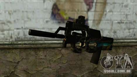 P90 from PointBlank v2 para GTA San Andreas