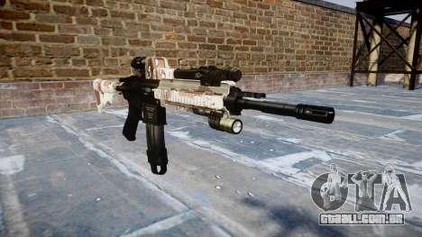 Automatic rifle Colt M4A1 choco para GTA 4