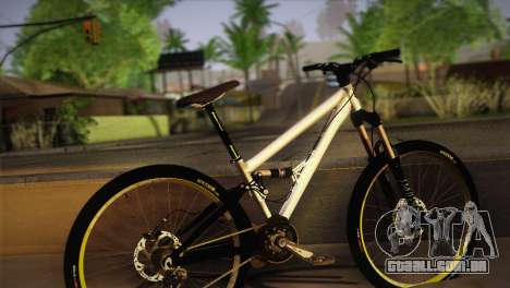 Banshee Rampant Bike para GTA San Andreas esquerda vista