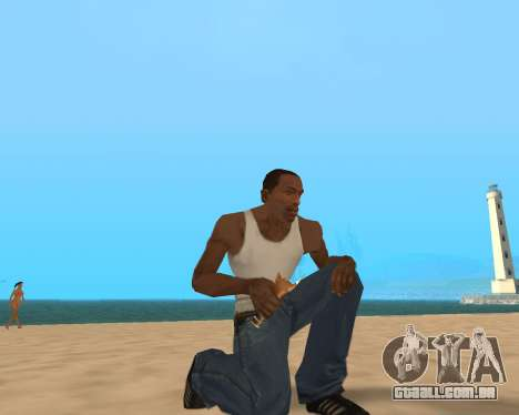 Para airborne! para GTA San Andreas por diante tela