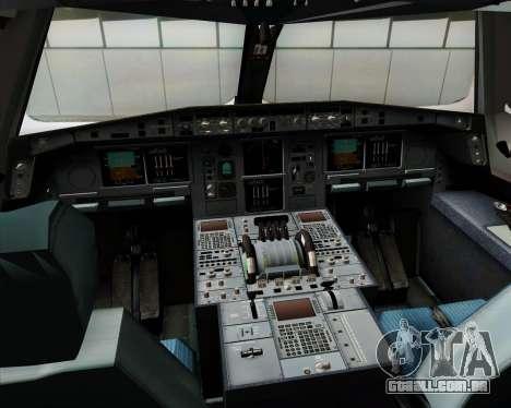 Airbus A380-841 Emirates para GTA San Andreas interior