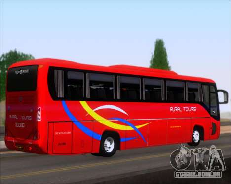 Yanson Viking 4th Generation Rural Tours 10010 para GTA San Andreas traseira esquerda vista