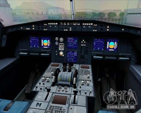 Airbus A330-300 Fly International para GTA San Andreas interior