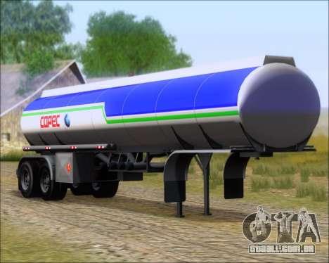 Tanque de reboque Carro Copec para GTA San Andreas