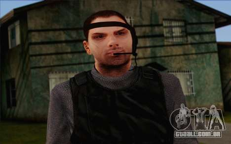 Reynolds from ArmA II: PMC para GTA San Andreas terceira tela