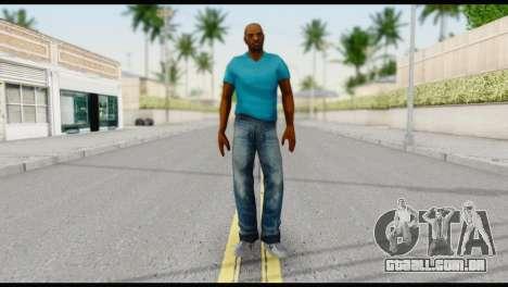Blue Shirt Vic para GTA San Andreas