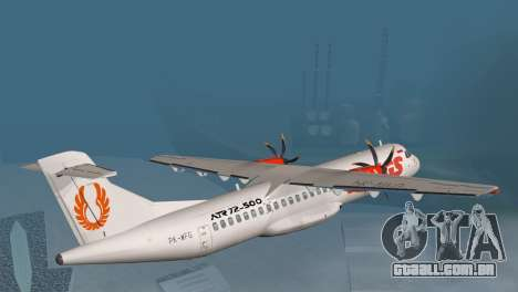 Indonesian Plane Wings Air para GTA San Andreas esquerda vista