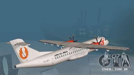Indonesian Plane Wings Air para GTA San Andreas esquerda vista