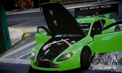 Aston Martin Vantage GTE para GTA 4 traseira esquerda vista