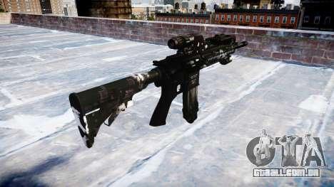 Automatic rifle Colt M4A1 fantasmas para GTA 4 segundo screenshot
