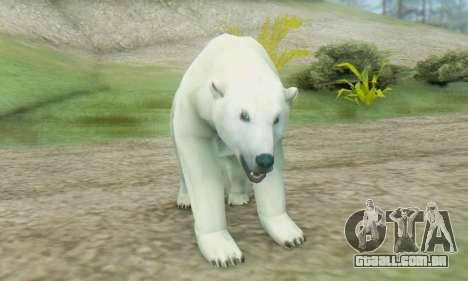 Polar Bear (Mammal) para GTA San Andreas terceira tela