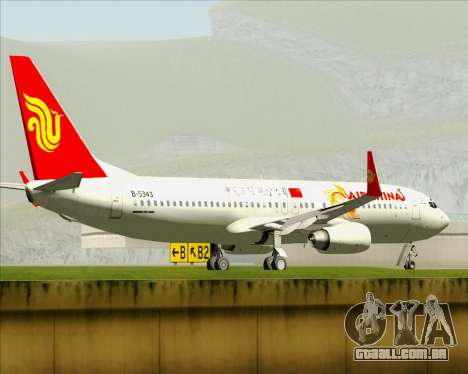 Boeing 737-89L Air China para as rodas de GTA San Andreas