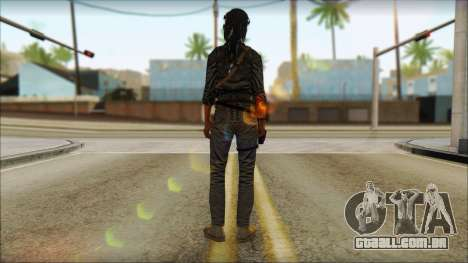 Tomb Raider Skin 3 2013 para GTA San Andreas segunda tela