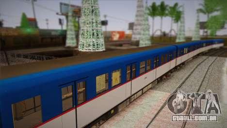 MRT-2 para GTA San Andreas traseira esquerda vista