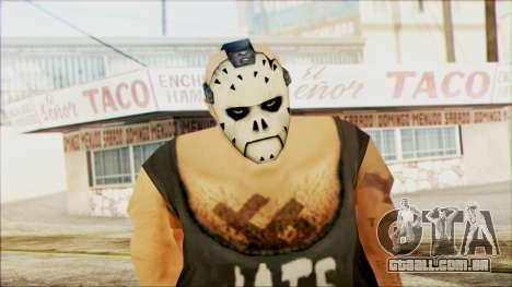 Manhunt Ped 11 para GTA San Andreas terceira tela