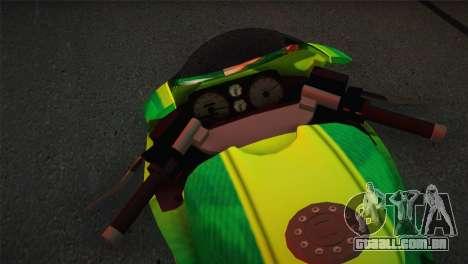 Bati RR 801 Sprunk para GTA San Andreas traseira esquerda vista