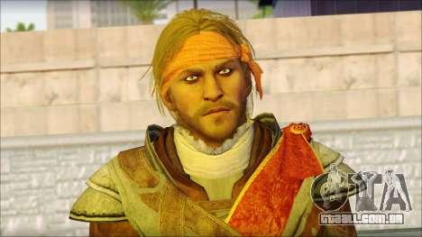 Edward Kenway Assassin Creed 4: Black Flag para GTA San Andreas terceira tela
