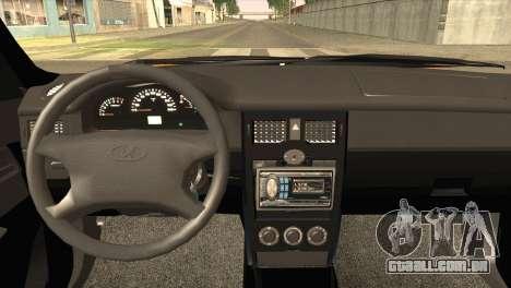Lada 2170 Priora para GTA San Andreas traseira esquerda vista