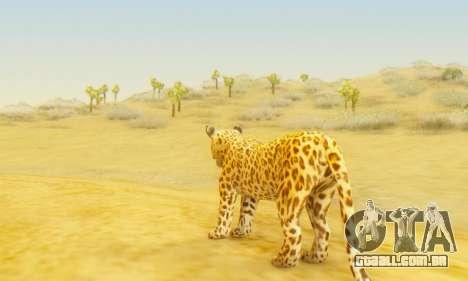 Leopard (Mammal) para GTA San Andreas terceira tela