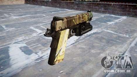 Arma Kimber 1911 Ronin para GTA 4 segundo screenshot