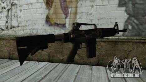 TheCrazyGamer M16A2 para GTA San Andreas segunda tela
