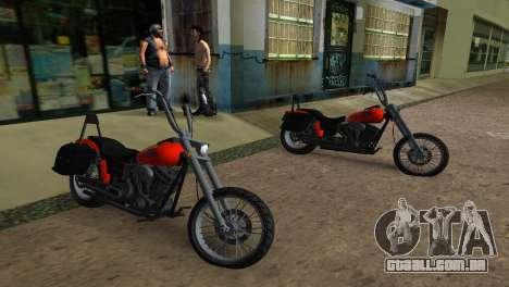 WMC Angel para GTA Vice City vista traseira esquerda