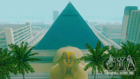 Novas texturas da pirâmide em Las Venturas para GTA San Andreas