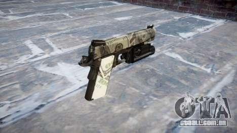 Arma Kimber 1911 Benjamins para GTA 4 segundo screenshot