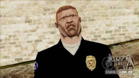 Oficial de Entalhador de Cena para GTA San Andreas terceira tela