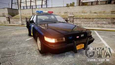 Vapid Police Cruiser LSPD Generation [ELS] para GTA 4