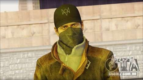 Aiden Pearce from Watch Dogs para GTA San Andreas terceira tela