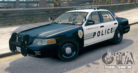 Ford Crown Victoria LCPD [ELS] Pushbar para GTA 4