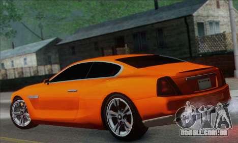 Alpha - DLC Business GTA V para GTA San Andreas esquerda vista