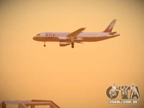 Airbus A320-214 LAN Oneworld para o motor de GTA San Andreas