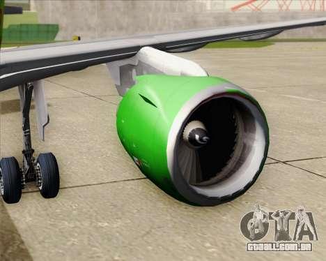 Airbus A320-214 S7-Siberia Airlines para GTA San Andreas interior