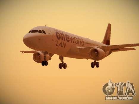 Airbus A320-214 LAN Oneworld para GTA San Andreas