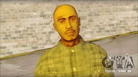 Los Aztecas Gang Skin v1 para GTA San Andreas terceira tela