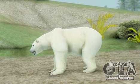 Polar Bear (Mammal) para GTA San Andreas segunda tela