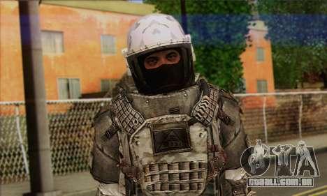 Task Force 141 (CoD: MW 2) Skin 3 para GTA San Andreas terceira tela