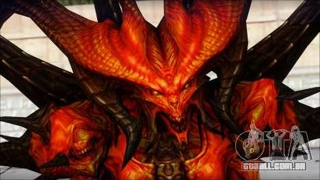 Diablo From Diablo III para GTA San Andreas terceira tela