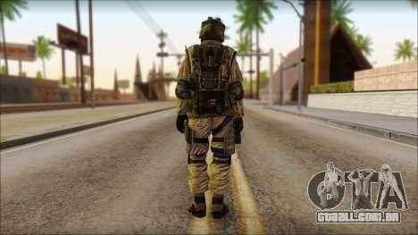 Soldados da UE (AVA) v4 para GTA San Andreas segunda tela