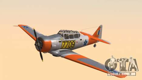 North American T-6 TEXAN 7709 para GTA San Andreas