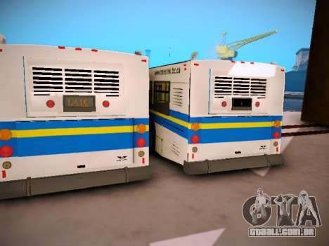 NewFlyer D40LF TransLink Vancouver BC para GTA San Andreas vista interior